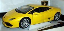 BURAGO 1/18 échelle métalliques 18-11038 Lamborghini Huracan LP 610-4 Jaune