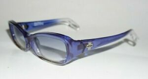 Spy Optic Cosmix Sunglasses Made in Italy Space Blue Y2K Plastic 51/20/118