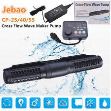 Pro Jebao/jecod flujo cruzado CP40W/25W/55W Bomba de arrecife Wave Maker + conjunto de controlador