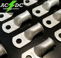 """(10) 4/0 AWG Ring 3/8"""" Hole Terminal Lug Tin Plated Copper Cable lug Gauge"""