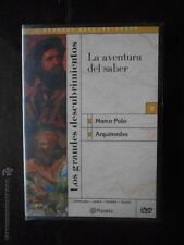 DVD LOS GRANDES DESCUBRIMIENTOS 7 - LA AVENTURA DEL SABER - MARCO POLO (5Q)
