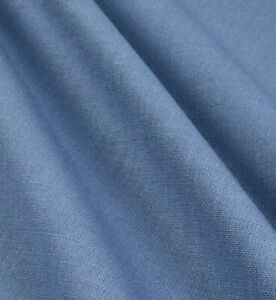 """Blue Blend Wool Suiting Fabric 60"""" Width Sold By The Yard Yard"""