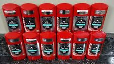 12 Old Spice Odor Blocker PURE SPORT PLUS Extra Strong Solid Antiperspirant NEW