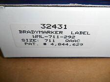 Brady WML-711-292 BradyMarker Brady Marker Wire Labels