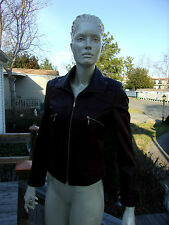 In All Weathers Natural Leather Collection Women's Leather Jacket Made In Turkey