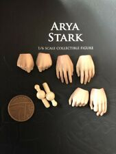 ThreeZero Got Game of Thrones Arya Stark Head Sculpt loose échelle 1//6th