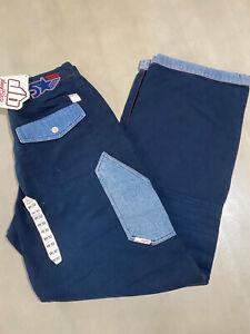 Vintage Deadstock Johnny Blaze Rap Jeans 30/32 Wu Wear Fubu Evisu Avirex Hardy