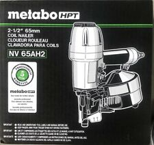 Brand New Metabo HPT NV65AH2 2-1/2 inch Coil Nailer Free Shipping