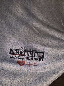 This My Grey's Antomy Watching Blanket