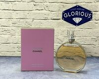 Chanel Chance Eau de Toilette EDT 100 ml / 3.4 oz for Women * Authentic SALE *