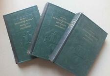 ENCYCLOPEDIE PRATIQUE DE MECANIQUE ET D ELECTRICITE - 3 TOMES - QUILLET - 1933 *