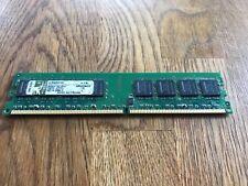 1gb Kingston ddr2 RAM pc2-4200u 533mhz cl4 240-pin DIMM kvr533d2n4/1g