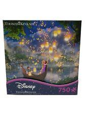 Thomas Kinkade Disney Rapunzel Tangled Painter Of Light Puzzle 750 Pc Sealed