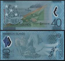 Isole Salomone 40 DOLLARI (P) 2018 nuova emissione commemorativa Polymer UNC