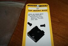 NEW WEAVER NO. 72 TOP MOUNT SCOPE BASE FOR BROWNING (sako action) 222,243,308,+