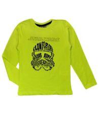 Camiseta de niño de 2 a 16 años manga larga en verde