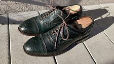 Allen Edmonds Strand Cordovan Green Cap Toe Oxford 6.5 E
