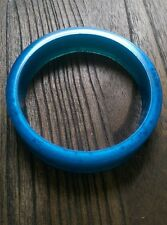 Blue Pearl Resin Bangle Hand Made