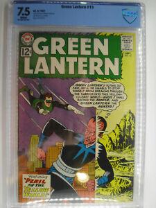 Green Lantern #15, Sinestro, CBCS, Very Fine-, 7.5, White Pages