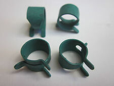 """Spring Action Hose Clamps 7/16"""" fit Holden Torana Mopar GM Universal 4 pce Green"""