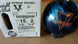 NEW 15lb DV8 Verge Pearl Bowling Ball Brand 11040