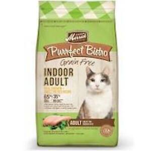Merrick Purrfect Bistro Grain Free Indoor Dry Cat Food Chicken/ Sweet Potato
