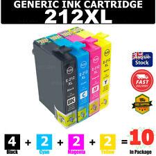 1x Compatible Ink Cartridge Black 212XL 212 XL for Epson Wf-2810 Wf-2830 Wf-2850