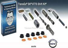 Transgo SK 6T70 6T75 Transmission Shift Kit Valve Body Kit 2007-12 Gen 1 124165T