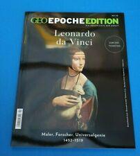 Geo Epoche Edition Nr.19 Leonardo da Vinci zum 500 Todestag ungelesen 1A abs.TOP