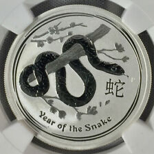 Year of the Snake Early Release 2013-P Australia S50c NGC MS70 Lunar Series II