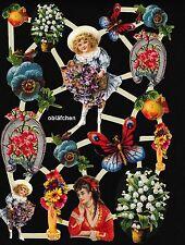 # GLANZBILDER # Bogen aus Holland 7 , verschiedene nostalgische Motive
