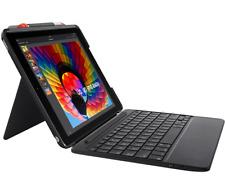 NEW Logitech Slim Combo Backlit Keys Bluetooth keyboard for iPad 6th & 5th gen