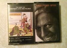 Robert Palmer Riptide Emerson Lake and Palmer The Best of Cassette Tapes