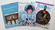 Rosemary West Folk Art Tole Painting BK + Two More West Patterns