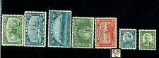 Canada Comem  #194,193,202,203,204,209,190, M.N.H. all VF Catalog value $280