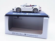 52249 Minichamps Porsche 911 turbo S CabrioTyp 991.2 Modellauto 1:43 NEU OVP