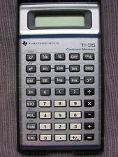 TEXAS INSTRUMENTS TI-35 Scientific Calculator & BOX Vintage 1982 ORIGINAL!