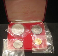 1965 Sovereign Order of Saint John of Jerusalem 4 Coin Proof Set - Box