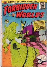 Forbidden Worlds #111 - Ghost Cemetery Cover - 1963 (5.0) Wh
