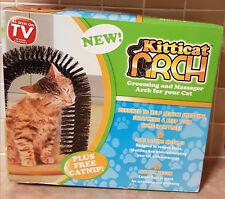 Kitticat Arch Cat Kitten Massage Grooming Scratch + Catnip - Brand New & Sealed!