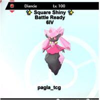 ✨ Shiny Diancie ✨ Pokemon Sword and Shield Perfect 6IV Battle ready