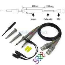 2pcs New P6100 100mhz Oscilloscope Scope Clip Probe 100mhz For Tektronix Hp