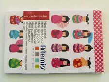 Mini carnet Femmes Japon 11x7cm 30 feuilles Artemio DIY scrapbooking papeterie