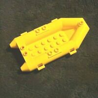 "LEGO OLIVE//GREEN SMALL /""RUBBER/"" RAFT,BOAT ZODIAC CITY FIRE PIRATES"