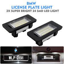 Pair LED SMD Car Rear License Number Plate Light  Fit BMW E39 E60 E90 X5