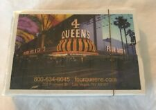 Las Vegas New 4 Queens Casino Playing Cards Fremont Street Sealed