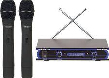 Vocopro Vhf3005-4 2ch Wireless Vhf Q:676.74mhz Mic (vhf30054)