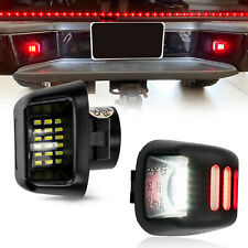 X2 18led License Plate Light Lamp For Nissan Frontier Armada Titan 2007 2019
