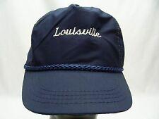 LOUISVILLE - VINTAGE - ADJUSTABLE SNAPBACK BALL CAP HAT!