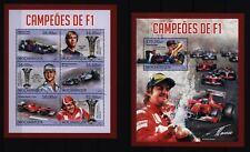 Mosambik Mozambique 2013 - Formel 1 Weltmeister - Vettel Schumacher Alonso F1